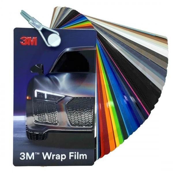 3M Wrap Film Farbfächer