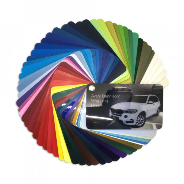Avery Supreme Wrapping Film Color Sample Selector