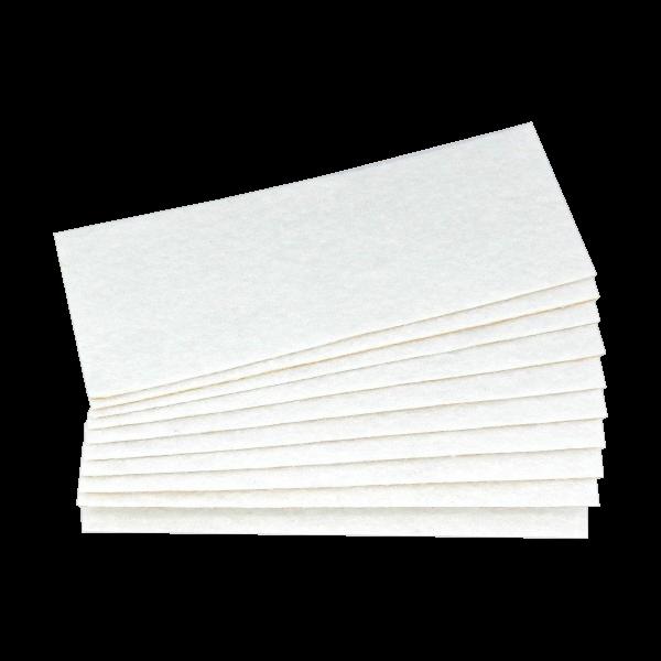 PTFE Nadelfilz weiß 10er Pack